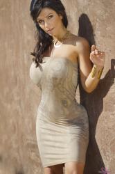 Дениз Милани, фото 5755. Denise Milani Gold 2012, foto 5755