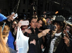Ian Somerhalder - Arriving at Live with Kelly and Michael in NYC (March 13, 2013) - 18xHQ PDAJL95f
