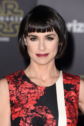 Constance Zimmer - Star Wars: The Force Awakens World Premiere @ Hollywood Boulevard in Hollywood - 12/14/15