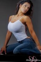 Дениз Милани, фото 6105. Denise Milani Jeans 2012 :, foto 6105