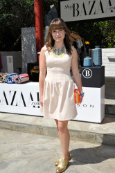 Sophia Bush - Harper's Bazaar Coachella poolside fete in Palm Springs 4/12/13