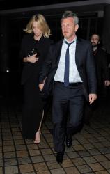 Sean Penn - Charlize Theron and Sean Penn - seen leaving Royal Festival Hall. London - February 16, 2015 (153xHQ) P086Kug7