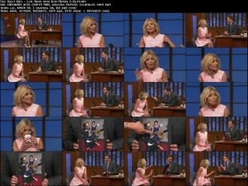 Kelly Ripa - Late Night with Seth Meyers 2-26-14