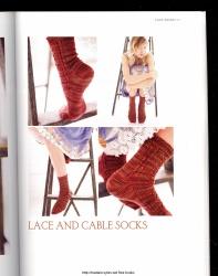 Socks from the toe up脚上的袜子 - 编织幸福 - 编织幸福的博客