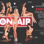 Gatas QB - Anna Hess, Julia Porath, Patricia Gerndt, Sofia Dinu, Steffi Schaller e Sarah Berg Playboy Alemanha Junho 2013