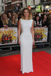 Kimberley Walsh @ UK Premiere of 'All Stars' at Vue West End in London - 4/22/2013