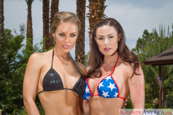 Kendra Lust & Nicole Aniston - 2 Chicks SameTime 05/22/15