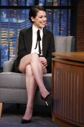 Tatiana Maslany - Late Night with Seth Meyers - 05/13/15