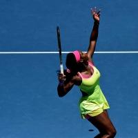 Serena Williams Second round of the 2015 Australian Open January 22-2015 x12