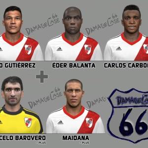 Download PES 2014 River Plate Mini Facepack by DamageCase66