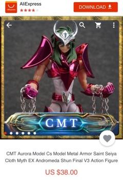 [CS MODEL] Myth Cloth Ex Andromeda Shun v3