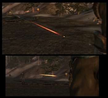 IMPACT at Fallout New Vegas - mods and community Minigun Bullet Wound