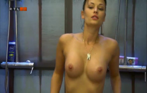 magnificent Lesbian milf at pool can look for the