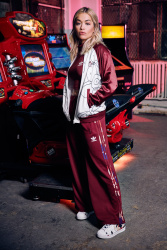 Rita Ora - Adidas Originals 'Color Paint Pack' Fall/Winter 2016 Collection