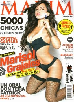Marisol Grajales Revista Maxim Abril 2013