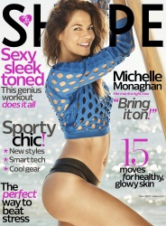 Michelle Monaghan - Shape Magazine March 2017