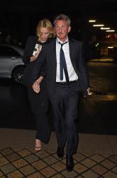 Sean Penn - Charlize Theron and Sean Penn - seen leaving Royal Festival Hall. London - February 16, 2015 (153xHQ) K80KHDbu