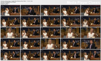 Diane Kruger - Tonight Show starring Jimmy Fallon - 7-14-14