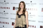 Saffron Burrows Screening of Sony Pictures Classics 'Grandma' in NY August 18-2015 x2