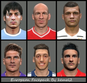 Download PES 2014 European Facepack by Kemal2