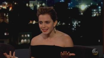 Emma Watson - Jimmy Kimmel.2017.03.06 | HD 720p