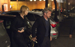 Sean Penn - Charlize Theron and Sean Penn - are spotted out in Rome on Valentine's Day - February 14, 2015 (4xHQ) QyfcIHV3