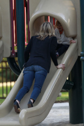 Ali Larter - at Coldwater Park in LA 2/22/13