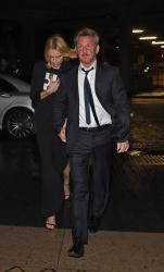 Sean Penn - Charlize Theron and Sean Penn - seen leaving Royal Festival Hall. London - February 16, 2015 (153xHQ) AFxH8vCd