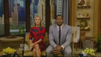 Kelly Ripa in short dress - Live with Kelly & Michael - 7-29-14
