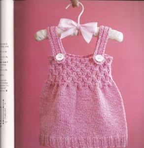 Платья, туники, сарафаны для девочек спицами » Страница 3 » Хомяк55.ру