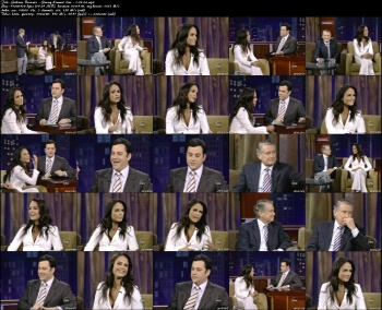 Jordana Brewster - Jimmy Kimmel Live - 1-24-06