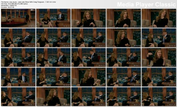 Lisa Joyce - Late Late Show With Craig Ferguson - 7-25-14 (super cute, nice gams)