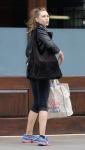Elizabeth Olsen - arriving at her hotel in NYC 8/5/17