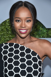 Aja Naomi King - 2016 GQ Men Of The Year Party @ Chateau Marmont in Los Angeles - 12/08/16