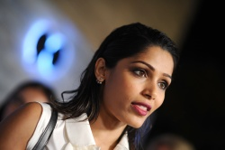 Freida Pinto - VIP Sneak Peek of go90 Social Entertainment Platform @ the Wallis Annenberg Center for the Performing Arts in Los Angeles - 09/24/15