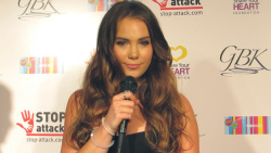 McKayla Maroney Red Carpet Interview at the GBK & Stop Attack Pre Kids Choice Gift Lounge in Hollywood on March 27, 2015