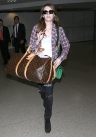 Emma Roberts - Arriving at LAX 5/07/13
