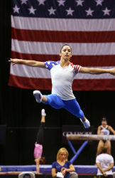 Aly Raisman - 2015 P&G Gymnastics Championships: Practice Day @ Bankers Life Fieldhouse in Indianapolis - 08/12/15