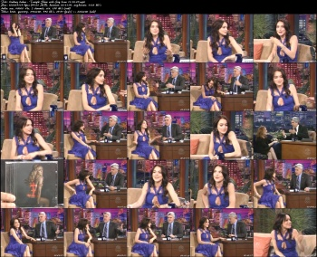 Lindsay Lohan - Tonight Show with Jay Leno 11-24-05