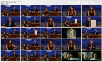 Megan Fox - Conan O'Brien - 8-7-14