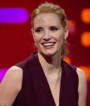 Jessica Chastain - The Graham Norton Show 5/5/17