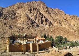 Saint Catherine Sinai desert