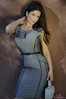 Дениз Милани, фото 5005. Denise Milani Business Suit (High Res) :, foto 5005