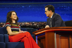 Tatiana Maslany - The Late Show with Stephen Colbert: February 15th 2017