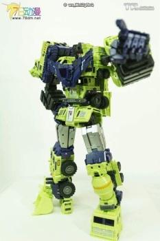 [Toyworld] Produit Tiers - Jouet TW-C Constructor aka Devastator/Dévastateur (Version vert G1 et jaune G2) - Page 7 7xbzs7wI