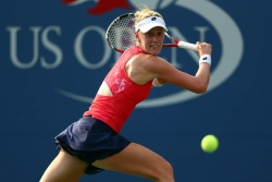 Alison Riske - 2015 US Open Day One: 1st Round vs. Eugenie Bouchard @ BJK National Tennis Center in Flushing Meadows - 08/31/15