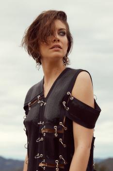 Lauren Cohan - Harper's Bazaar Magazine 3/28/17