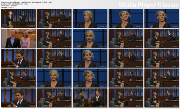 Jenna Elfman - Late Night with Seth Meyers - 5-5-14