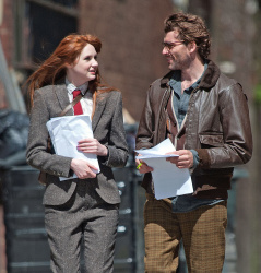 Карен Гиллан, фото 207. Karen Gillan - Set of 'Not Another Happy Ending' in Glasgow, Scotland - 7/20/12, foto 207