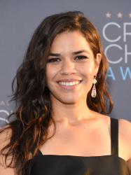 America Ferrera - 21st Annual Critics' Choice Awards @ Barker Hangar in Santa Monica - 01/17/15